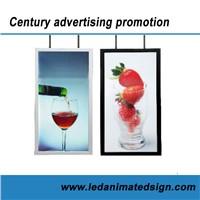 Led illuminated Advertising poster light box