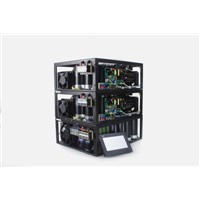 Nd YAG Pulsed Xe-Lamp Pumped Power source, 500W YAG pulsed power supply for laser welding