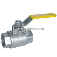 Stainless Steel  Full Bore Ball Cork Valve
