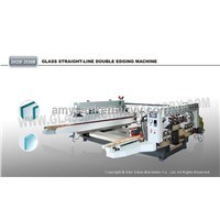 China Manufacturer 20 Motors Straight Line Glass Double Edging Machine