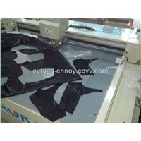 cloth textile fabric tailcut flatbed equipment