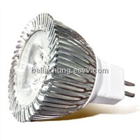 CE Rohs approved AC/DC12V 270lm MR16 3W Spot light LED