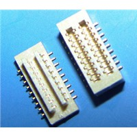 China canton 0.8mm pitch board to board socket,4mm Height