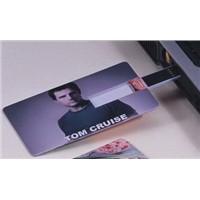 Credit Card USB Flash Drive Business card usb flash disk Memory Card shape Drive