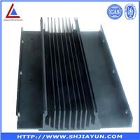 custom & standard 6063 t5/t6 aluminium cpu heatsink manufacturer in shanghai ISO