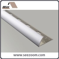 10mm Aluminum Round Tile Edge Trim