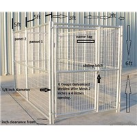 1.8x3.0x1.8m outdoor dog kennels for sale