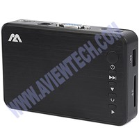 Digital HD media player, MP4 player, advertising media player, media box