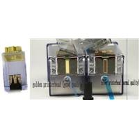 600dpi printerhead  cartridge 208 for encad novajet 600/600e/630/700/736/750/850/880(silver/golden )