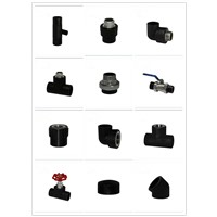 high quality and competitive price  HDPE SOCKET FITTING End cap