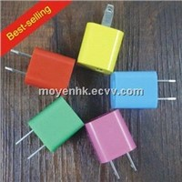 Colorful USB Charger for cell phone