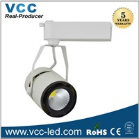 40W Bridgelux High Power Led Track Light, High CRI COB Led Track Lighting