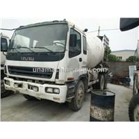 Used ISUZU Concrete truck/ISUZU concrete mixer truck/ Concrete mixer truck