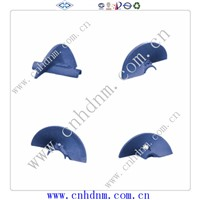asphalt wear resistant alloy paver parts paver impellers
