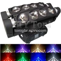 ETY-121B 8x10W LED spider moving head beam light