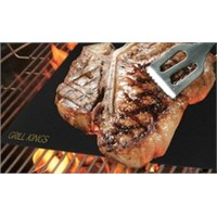 Non-stick/Reusable PTFE teflon BBQ cooking grill mat