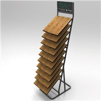 metal display rack for flooring