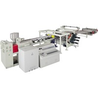 PC, PMMA, PS, PP,ABS Board Product Line      extrusion equipment wholesaler