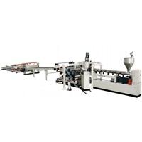 PP, PE, HIPS, PET EVA, PS Single Layer, Multi-Layers Composite Sheet Product Line