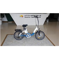 "36V 10.4AH 250W folding electric bicycle 20"" with CE TUV certification"