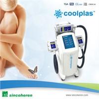 Coolplas cryolipolysis machine for body slimming weight loss