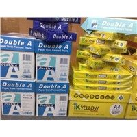 Double A4 copy paper and other brands of paper available for sale