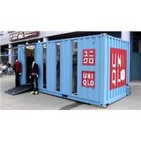 prefab modular shipping container shop