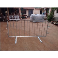 hot dipped galvanzied cheap design fast link Roadway safety Metal Steel Crowd Control Barrier