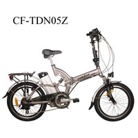 "CF-TDN05Z 20"" CE Aluminium Alloy Foldable Electric Bicycle"