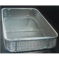 Food Wire Mesh Basket Strainer Stainless wire mesh baskets for Bakery
