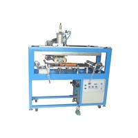 Rubber Roller Heat Transfer Machine (TGM-204) for DVD / CD shell