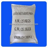 Sodium Metabisulfite CAS 7681-57-4 SMBS