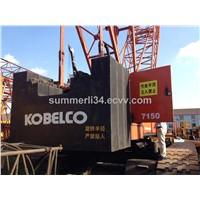 original used Kobeclco 150ton crawler crane