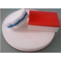 Cleaning melamine foam sponge
