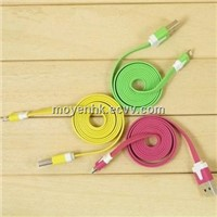 Flat USB cable with PVC jacket