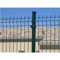 pvc coated Triangle Bending Fence Used for Fencing Decoration or Protection for Various Facilities