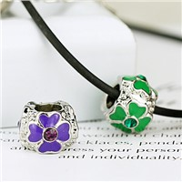 BT102501 Glazed glass beads European America Fashion Hand Glass Beads