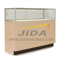 Jewelry Glass Display Showcase with LED