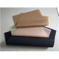 Non-stick PTFE coated fiberglass fabric and cloth