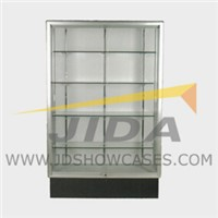 Wooden Frame Glass Wall Case