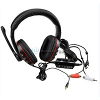 Stereo 7.1 Surround Pro USB Gaming Headset Headphones Deep Bass Earphone with Mic for PC computer