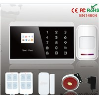 Mobile App home burglar home security CID alarm system with GPRS