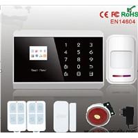 Mobile App home burglar home security CID alarm system with GPRS