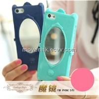 Mobile Phone Case with Mirror, Ladies Phone Case