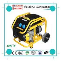 Handle Wheel Gasoline Generator Types For sale