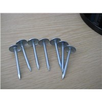 low carbon steel galvanized roofing nails with twisted shank
