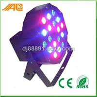 18x3w RGB slim led par 64 light
