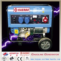 Electric Start 1kw to 10kw Gasoline Generator Types