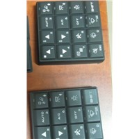 rubber silicone key or keypad
