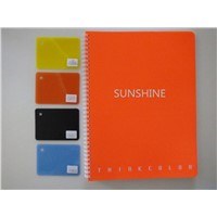plastic PP products printed pp sheet for notebook cover